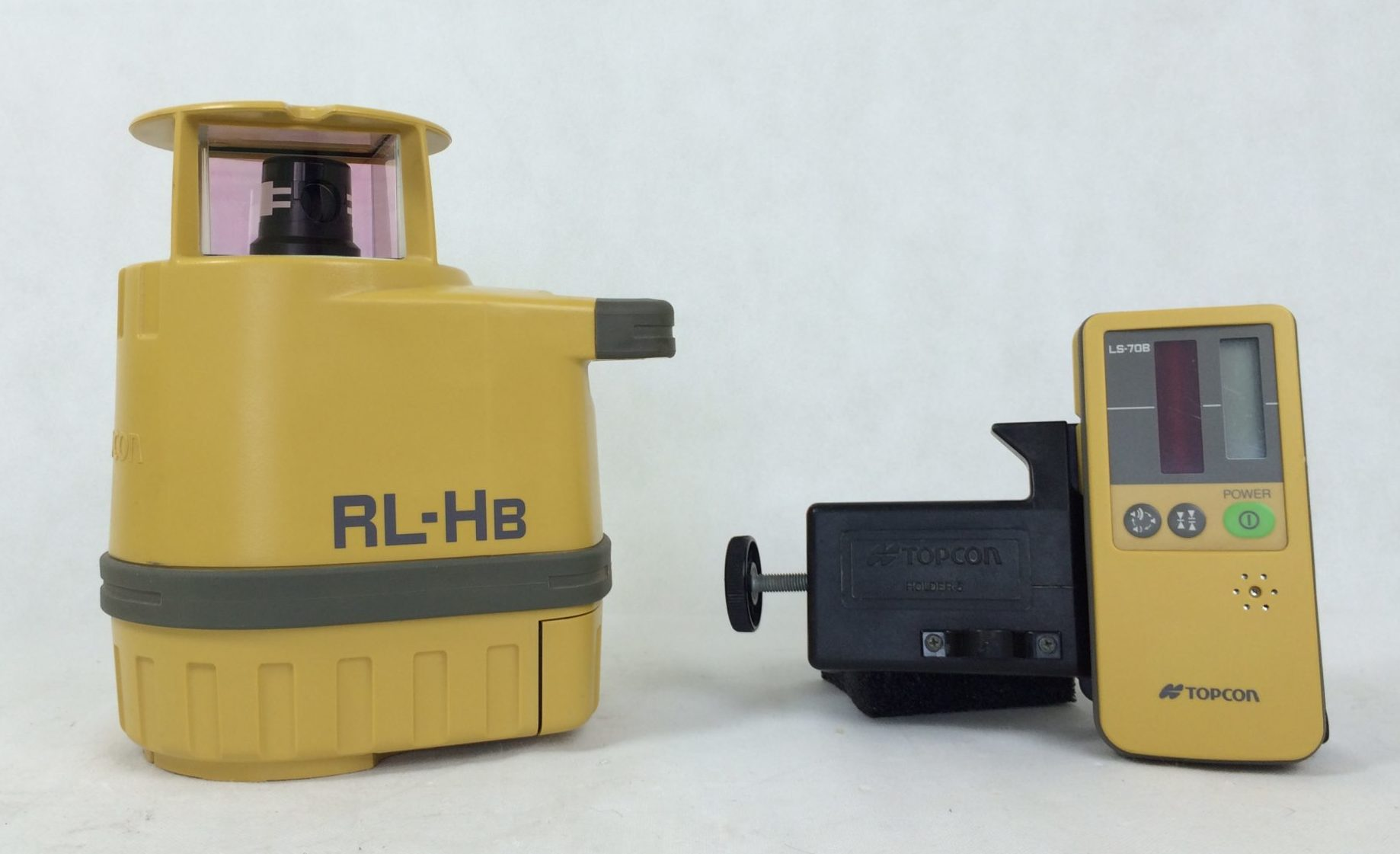 Topcon Rl Hb Rotating Laser Level With Laser Receiver