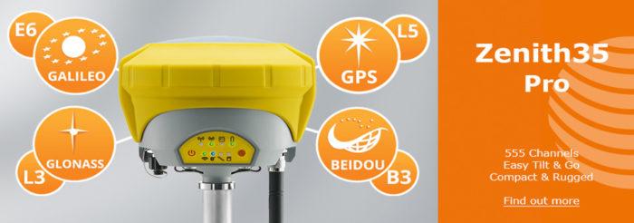 Geomax Zenith35 Pro GNSS