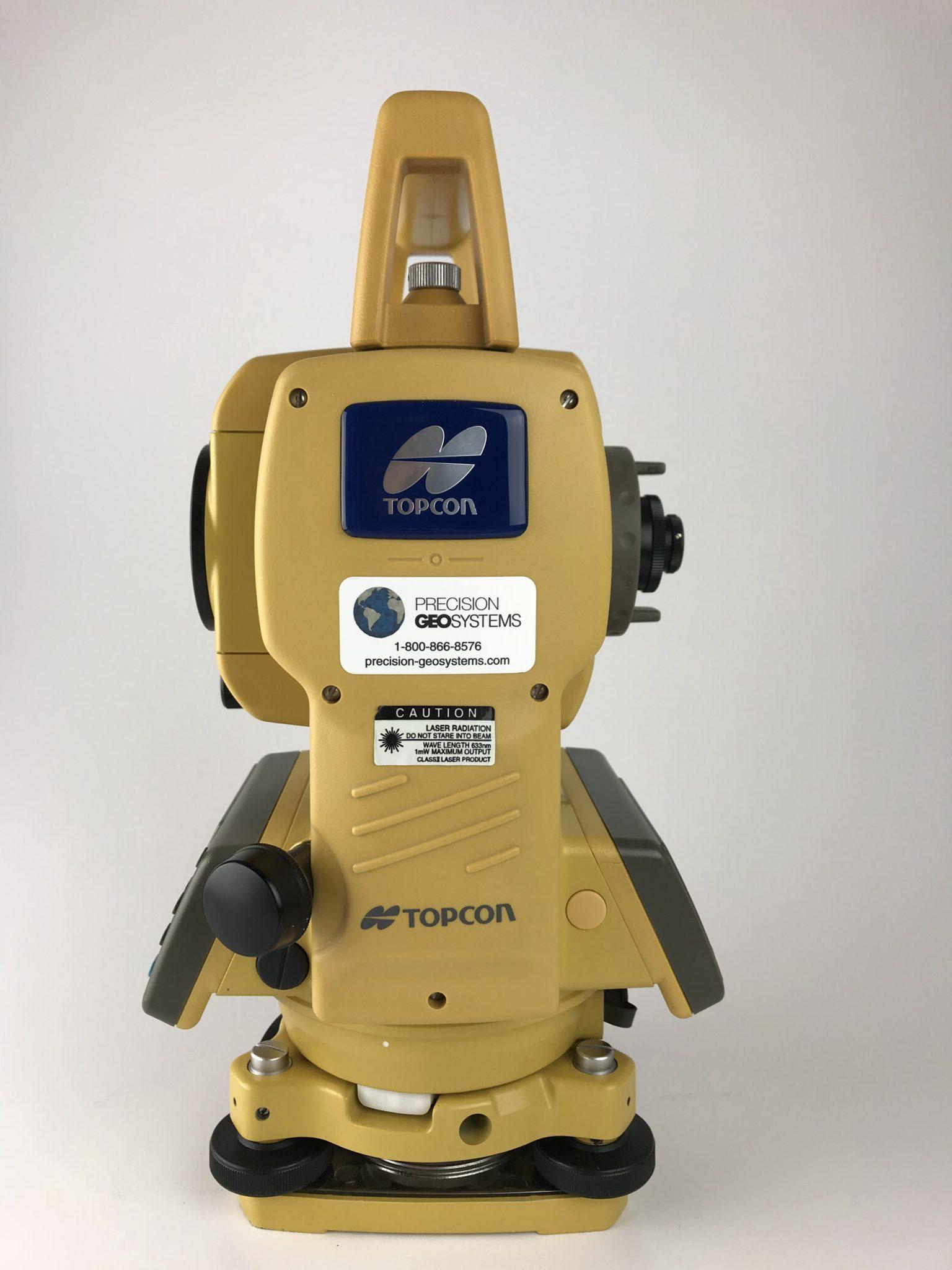 Topcon Gts 235w 5 Total Station W Bluetooth Precision