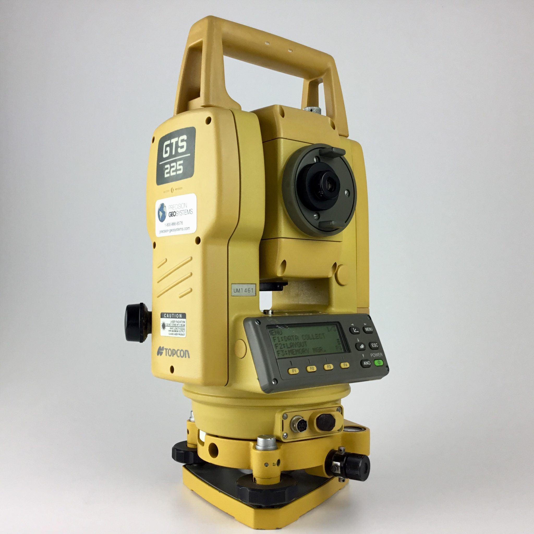 Topcon Gts 225 5 Total Station Precision Geosystems Inc