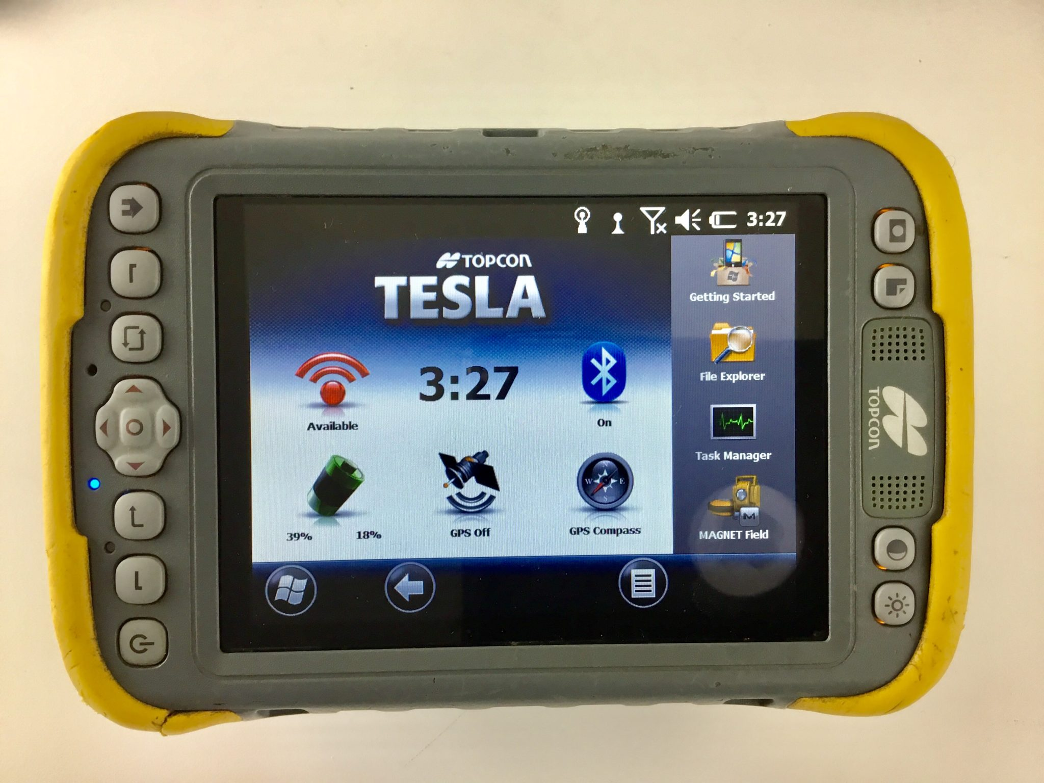 Topcon Hiper Sr Base And Rover Kit With Topcon Tesla