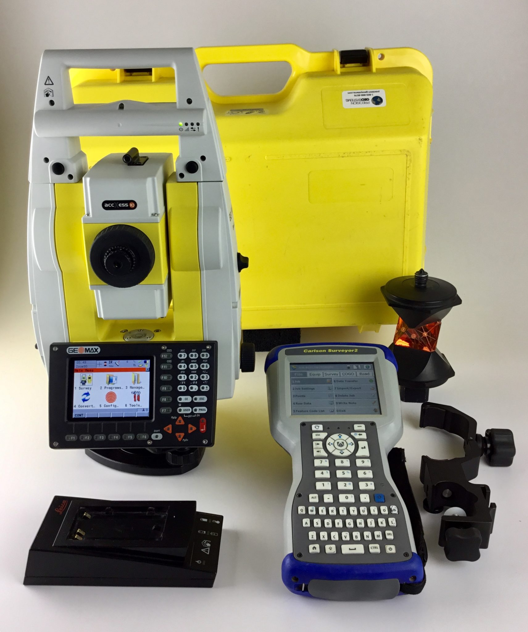 Geomax Zoom80 R 5 A10 Robotic Total Station Surveyor 2