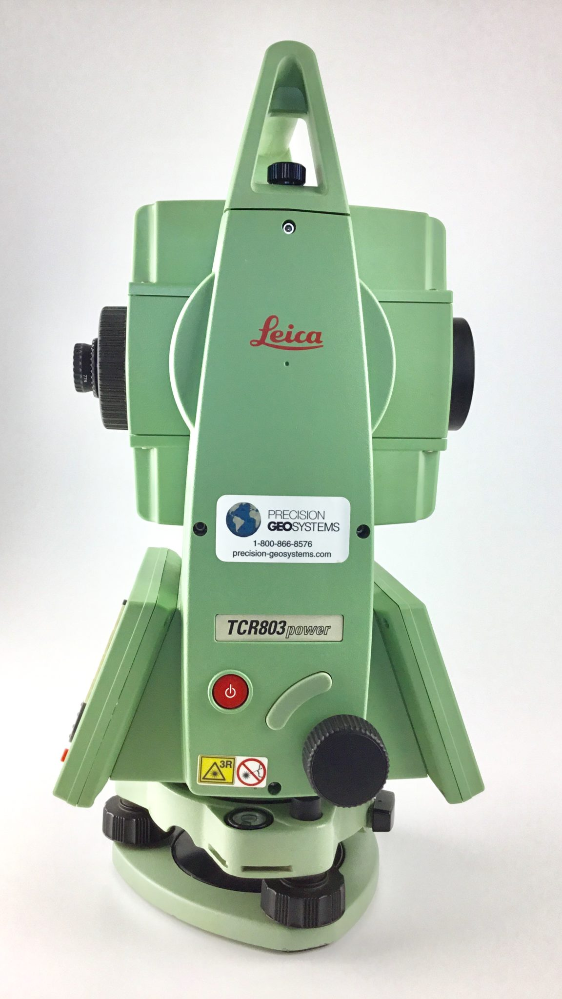 Leica Tcr 803power 3 U201d R100 Reflectorless Total Station