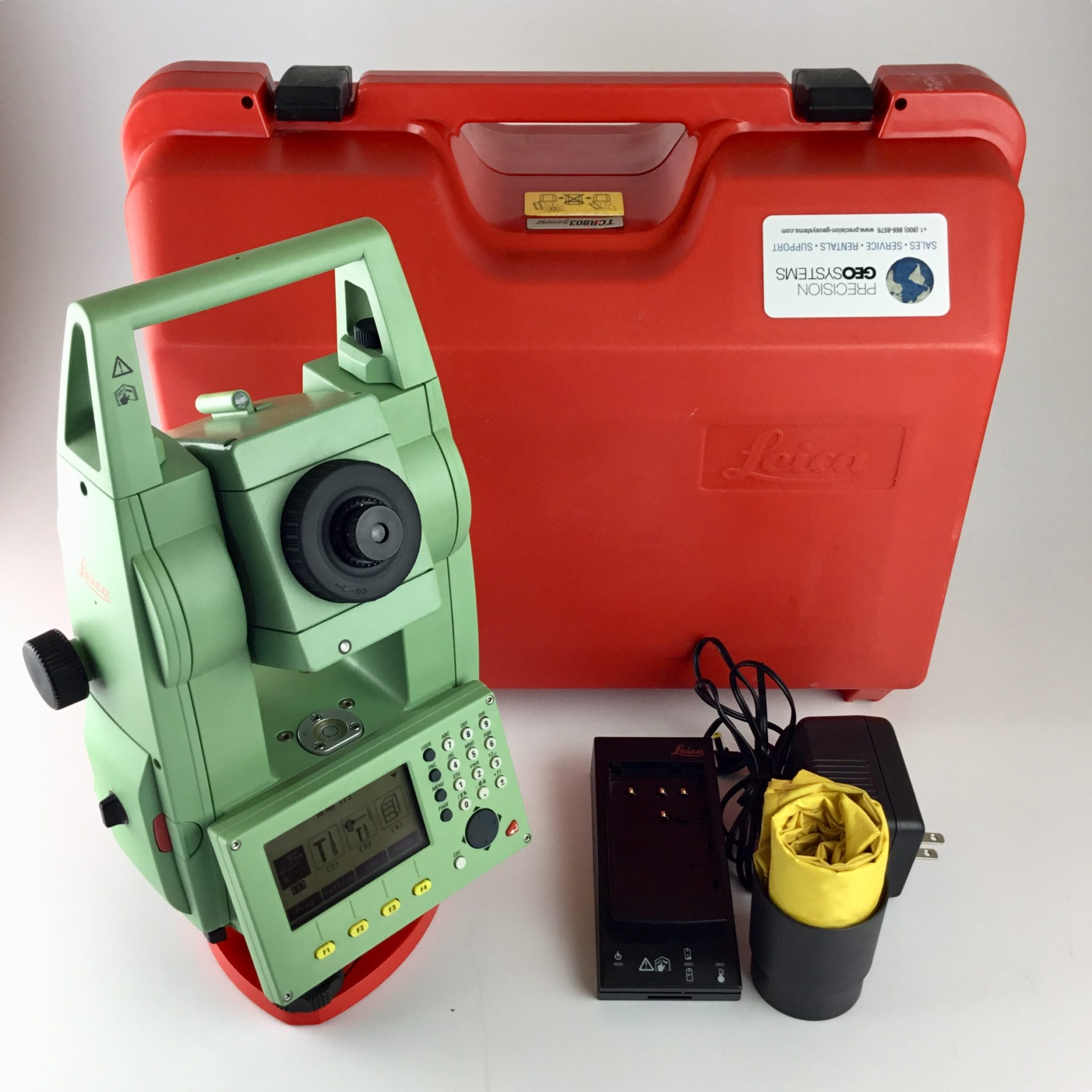 Leica Tcr 803power 3 U201d Reflectorless Total Station