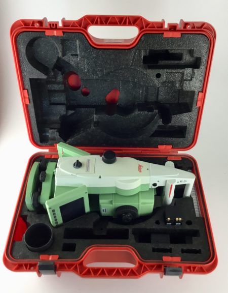 Leica TCRP1203+R1000 w/ Carlson Surveyor 2