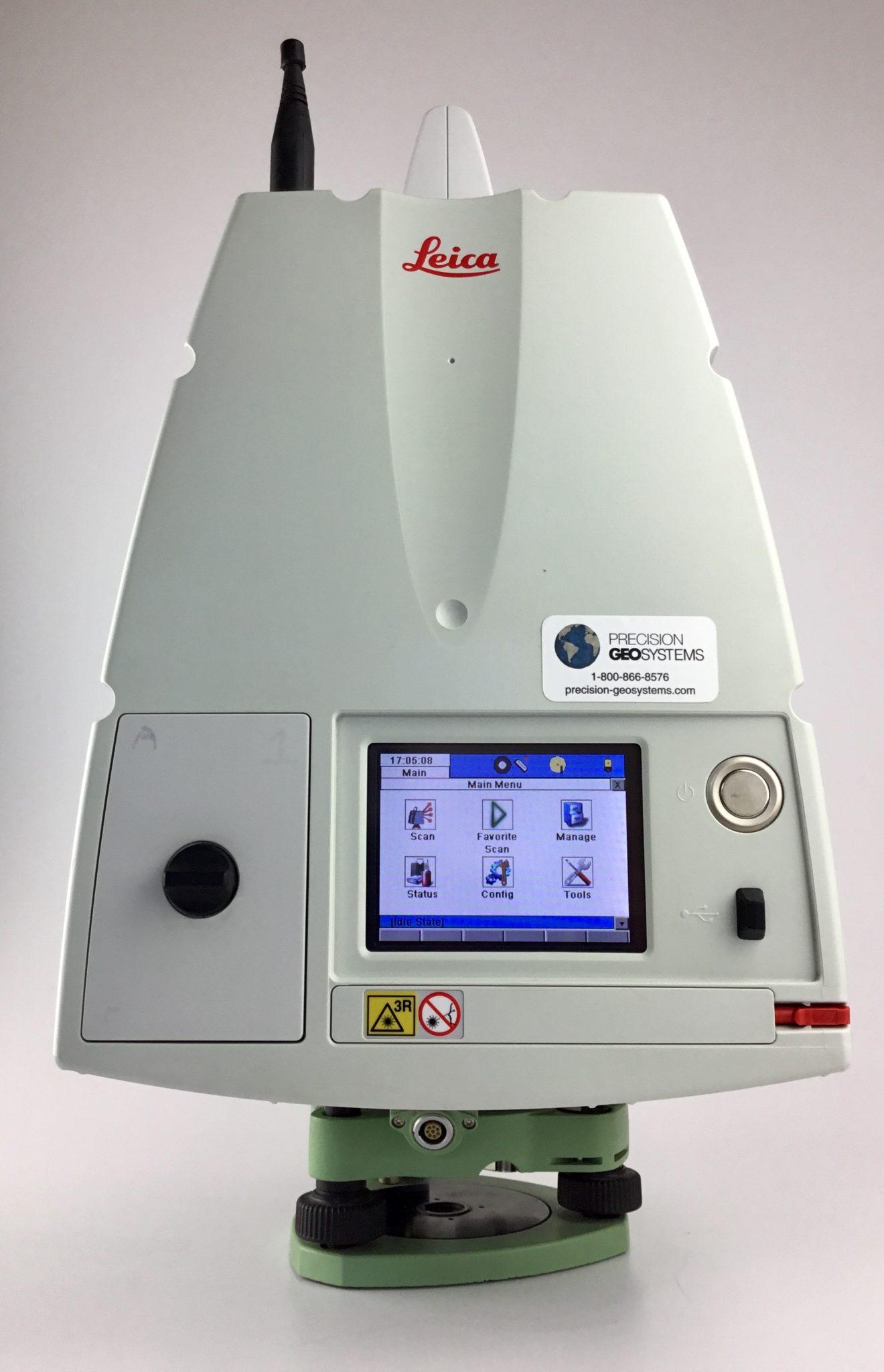 Leica ScanStation C10 Lidar Laser Scanner Kit Rental | Precision