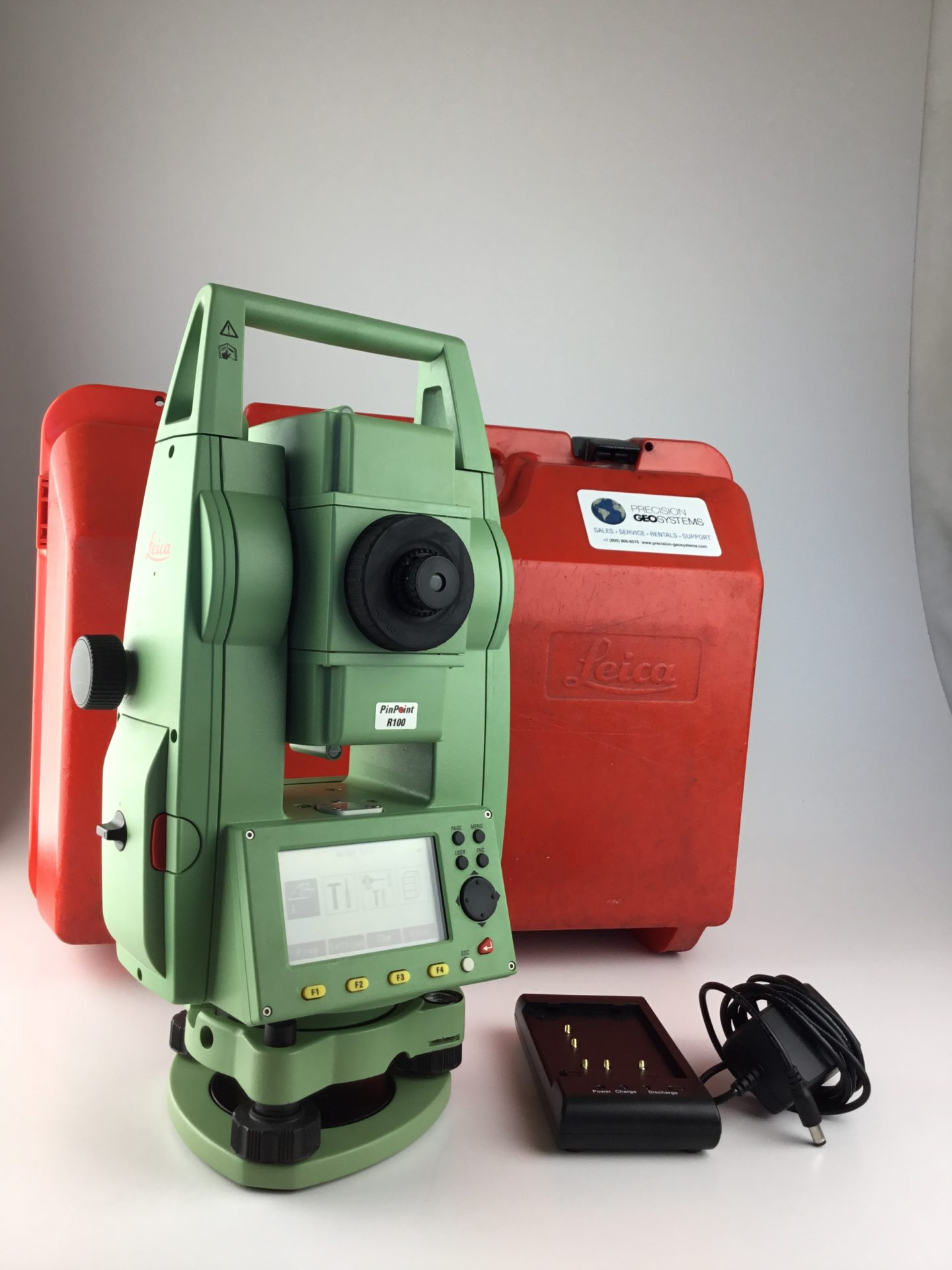 Leica Tcr 405 Power 5 U201d Reflectorless Total Station