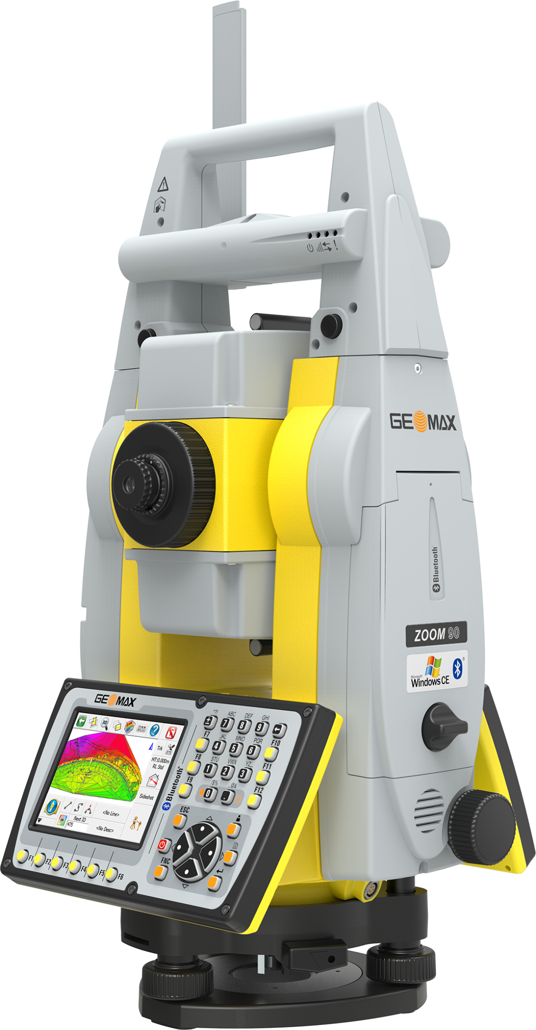 Geomax Zoom90 R 1 Robotic Total Station Package