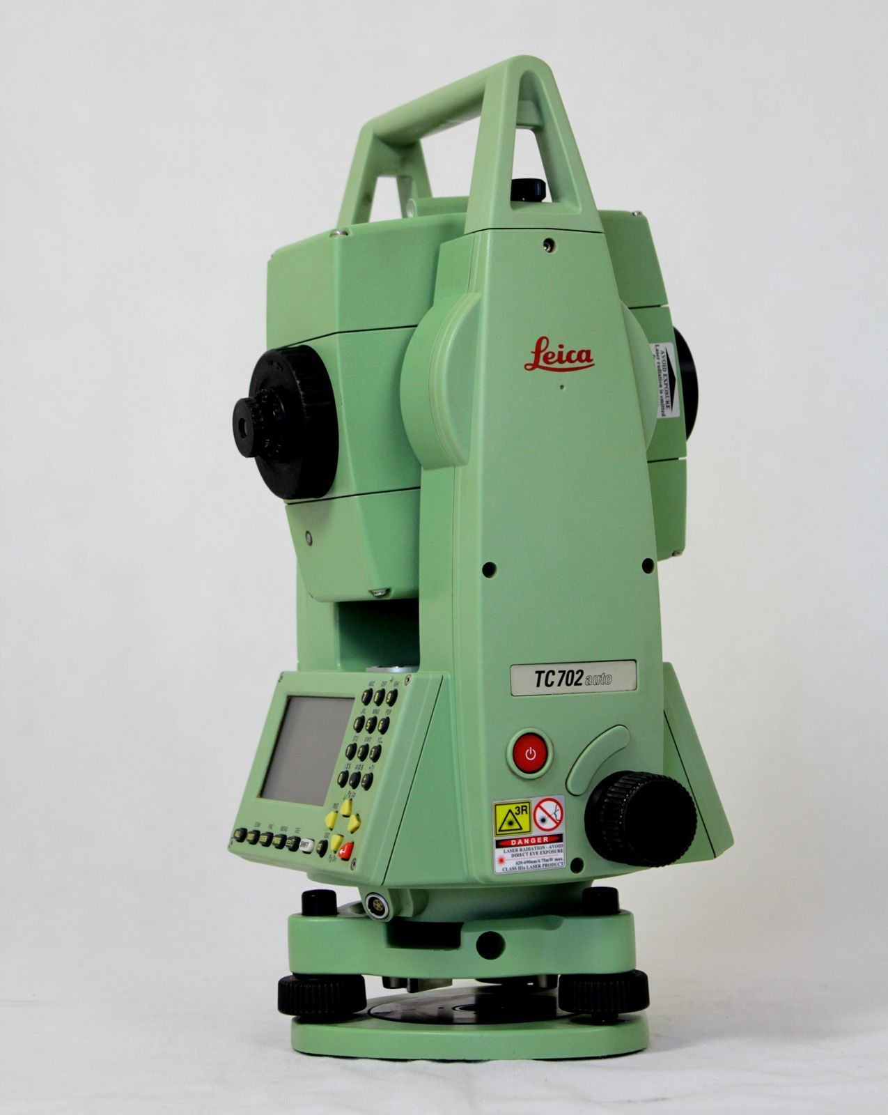 Leica Tcr702auto 2 U2033 Motorized Reflectorless Total Station